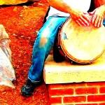 Vagabond Photo Walk - May 29th - Buskers and Drum Circle - bongo busker